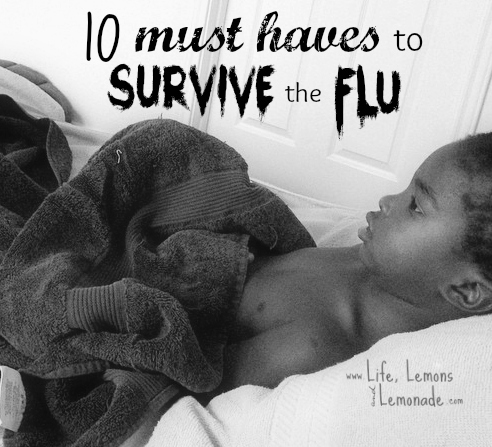 10 Must Haves To Survive The Flu