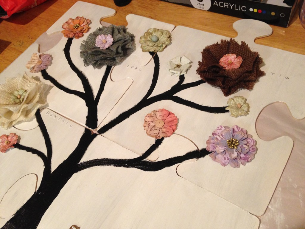 Family Tree Puzzle Craft