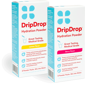 Use DripDrop to survive the flu