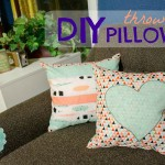 Making DIY Throw Pillows