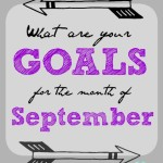 Are You Setting Goals For September?