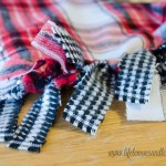 No Sew Reversible Flannel Throw