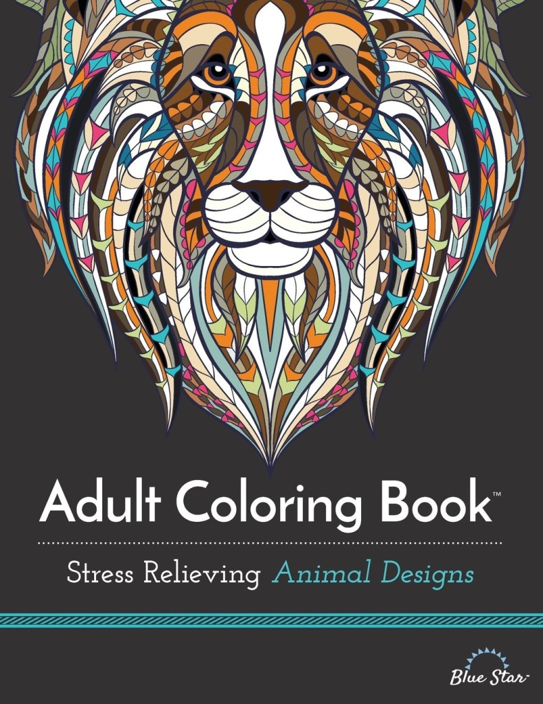 Adult Coloring Book - Animals for Stress Relief Benefits of Adult Coloring Books