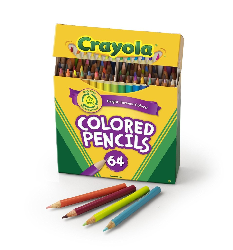 Crayola Colored Short Pencils for Stress Relief Benefits of Adult Coloring Books