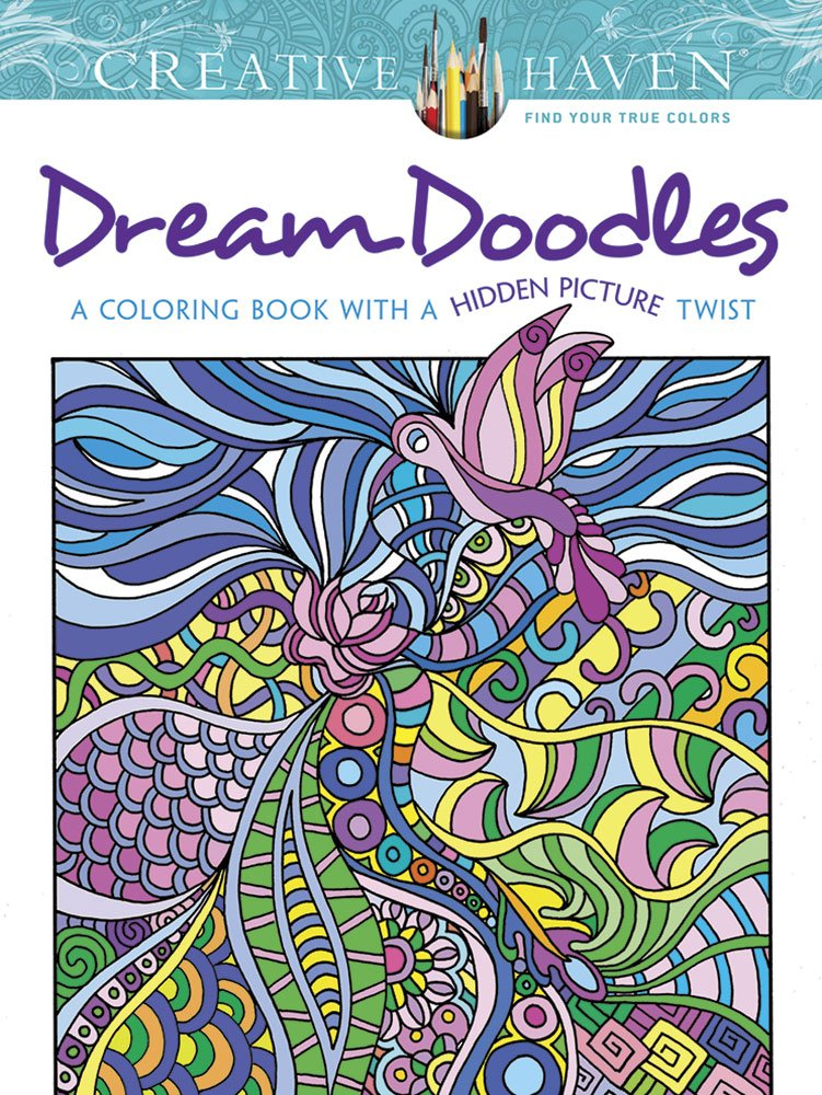 Dream Doodles for Stress Relief Benefits of Adult Coloring Books