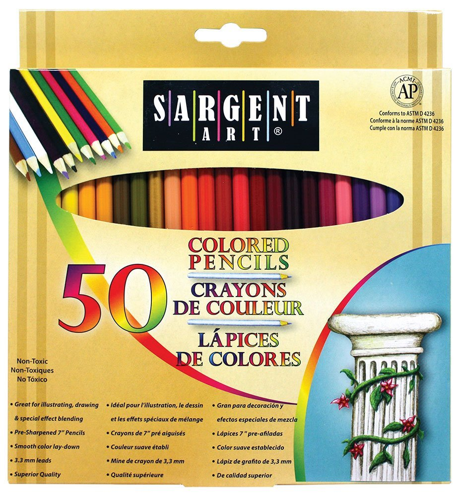 Sargent Colored Pencils for Stress Relief Benefits of Adult Coloring Books