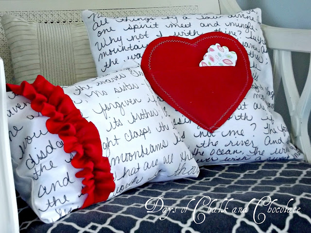 Love Note Pillows