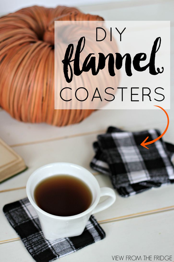fall-decor-flannel-coasters